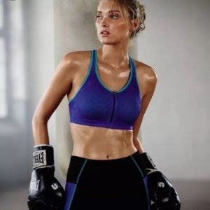 Victoria Secret🆚Angels Mesh Front Close Sport Bra